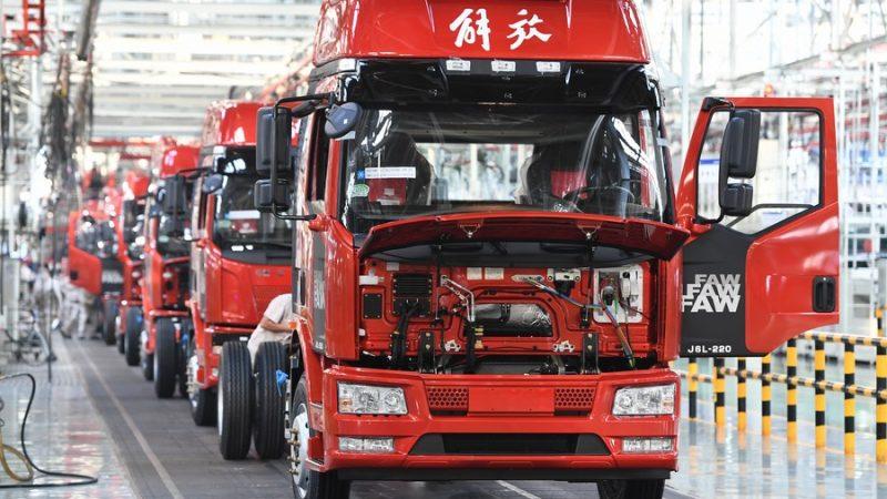 Montadora chinesa FAW tem aumento de vendas no primeiro trimestre