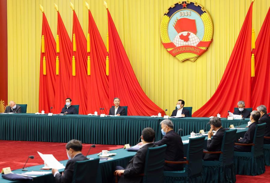Conselheiros políticos sêniores se reúnem em sessão anual do principal órgão consultivo político da China