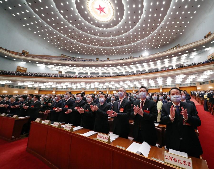 Legisladores chineses apresentam 473 propostas à sessão legislativa anual