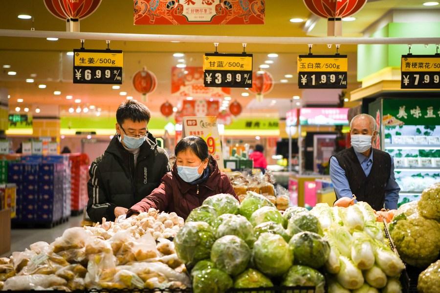 Inflação ao consumidor cai 0,2% em fevereiro na China