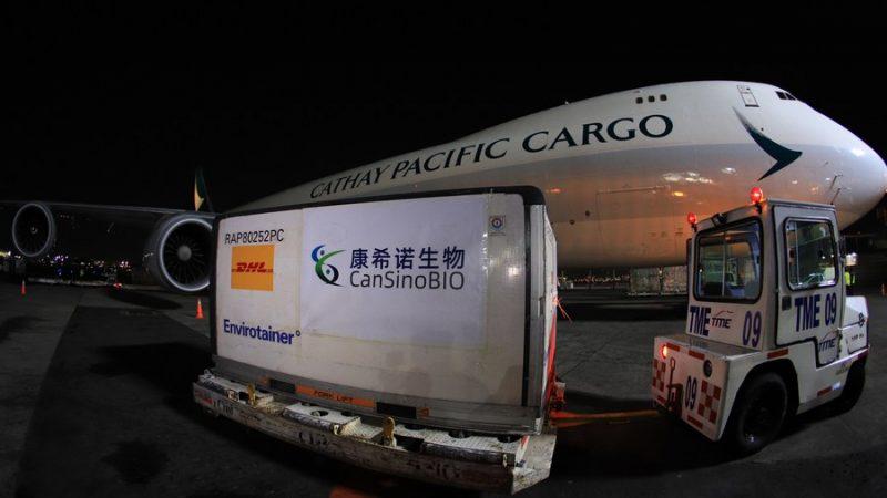 China aprova testes clínicos para vacina inalada da CanSino contra COVID-19
