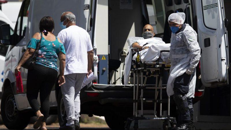 Brasil registra mais 1.803 mortes por COVID-19