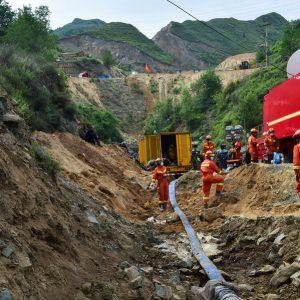 Sobe para 5 número de mortos em acidente de mina de ferro em Shanxi, China