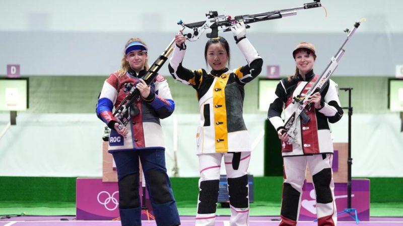 Chinesa Yang Qian conquista o primeiro ouro de Tóquio 2020 em tiro com carabina de ar 10 metros