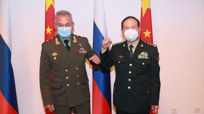 China e Rússia prometem salvaguardar paz e estabilidade regionais