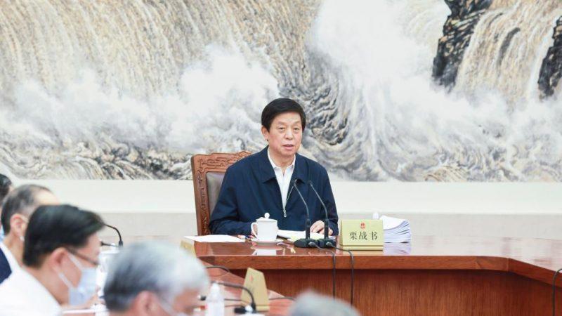 Mais alto órgão legislativo da China programa sessão do comitê permanente
