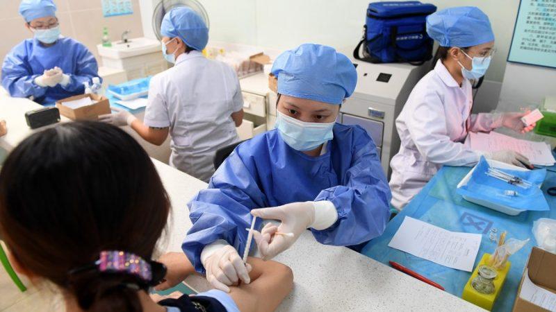 São aplicadas 2,214 bilhões de doses de vacinas contra COVID-19 na parte continental da China